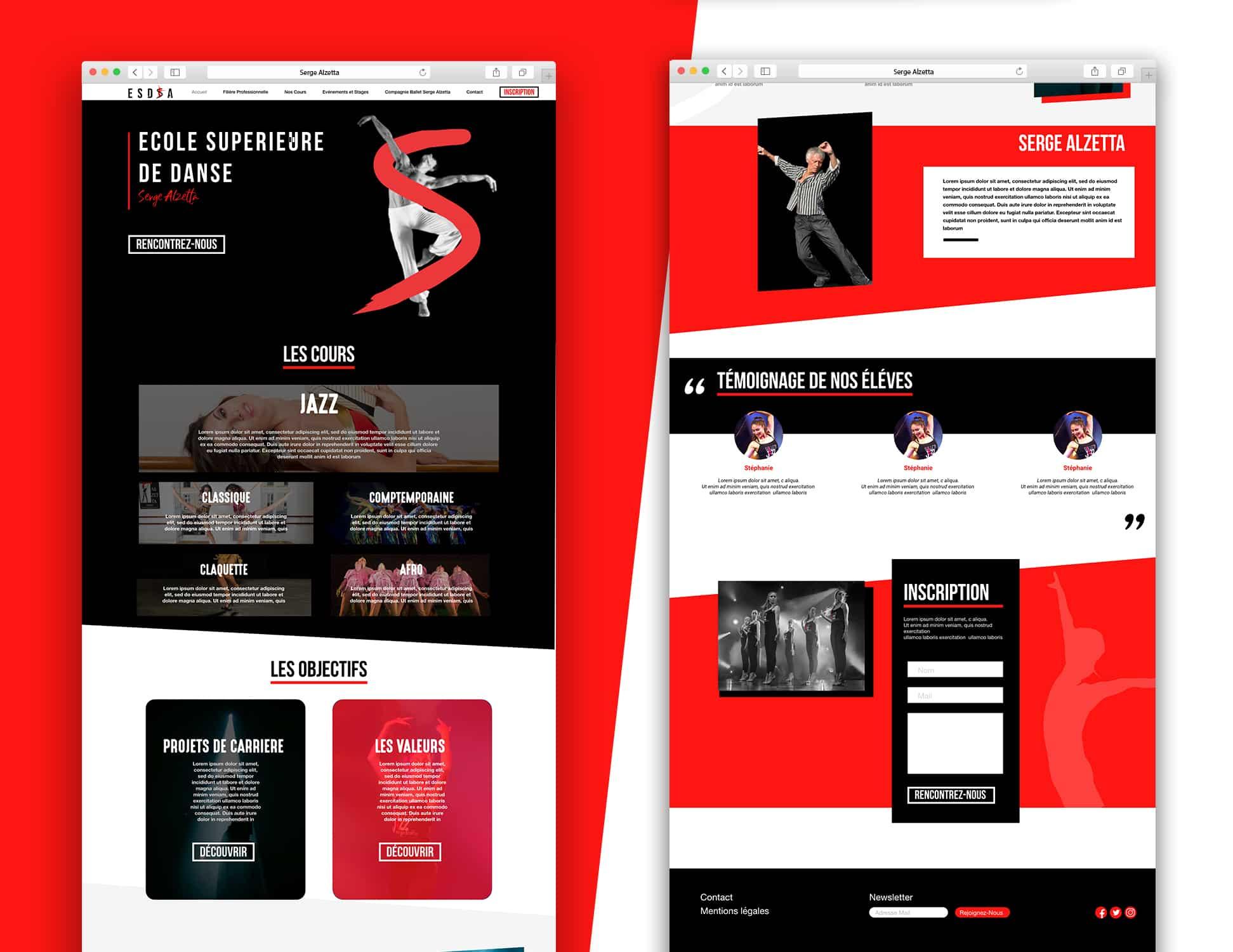 Webdesign ESDSA